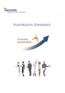 YOUR NOVOTEL EXPERIENCE