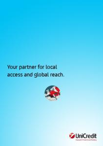 Your partner for local access and global reach