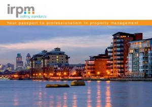 Your passport to professionalism in property management