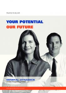 YOUR POTENTIAL OUR FUTURE