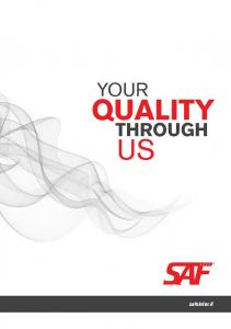 YOUR QUALITY THROUGH US