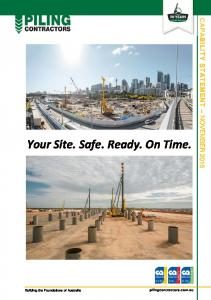 Your Site. Safe. Ready. On Time