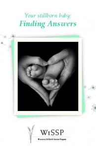 Your stillborn baby: Finding Answers