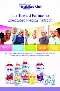 Your Trusted Partner for Specialized Medical Nutrition