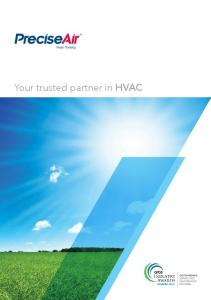 Your trusted partner in HVAC