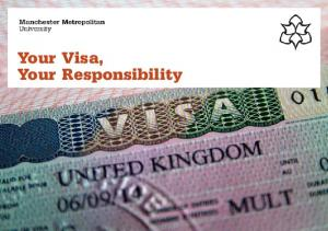 Your Visa, Your Responsibility