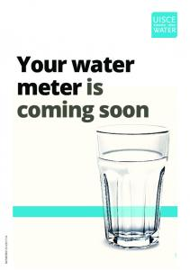 Your water meter is coming soon