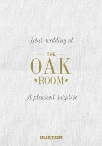 Your wedding at. A pleasant surprise