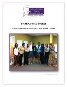 Youth Council Toolkit. Materials to help you form your own Youth Council