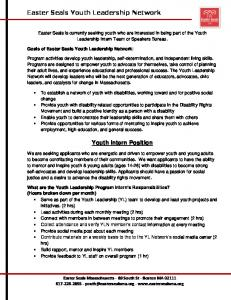 Youth Intern Position