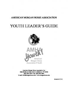 YOUTH LEADER S GUIDE