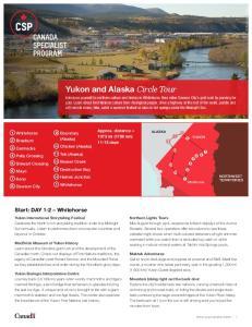 Yukon and Alaska Circle Tour