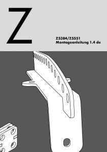 Z5551 Montageanleitung 1.4 de