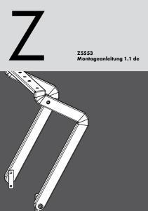 Z5553 Montageanleitung 1.1 de