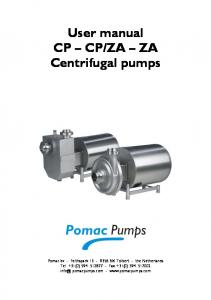 ZA ZA Centrifugal pumps