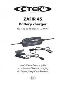 ZAFIR 45 Battery charger