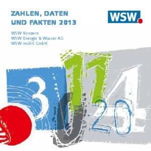 ZAHLEN, DATEN UND FAKTEN WSW Konzern WSW Energie & Wasser AG WSW mobil GmbH