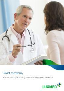 Zakres pakietu medycznego