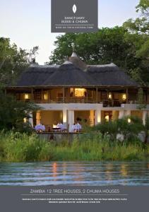 ZAMBIA 12 TREE HOUSES, 2 CHUMA HOUSES
