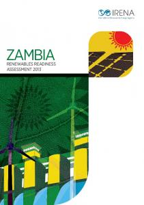 ZAMBIA RENEWABLES READINESS ASSESSMENT 2013