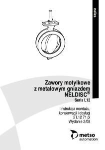 Zawory motylkowe z metalowym gniazdem NELDISC Seria L12