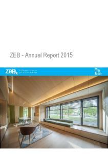 ZEB - Annual Report 2015