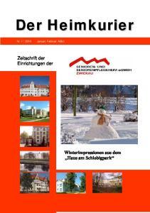Zeitschrift der Einrichtungen der