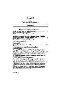 Zeitschrift. Luft- und Weltraumrecht