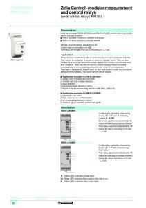 Zelio Control-modular measurement and control relays 1