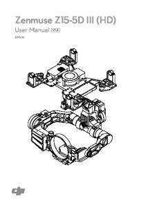 Zenmuse Z15-5D III (HD) User Manual