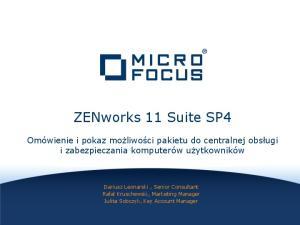 ZENworks 11 Suite SP4