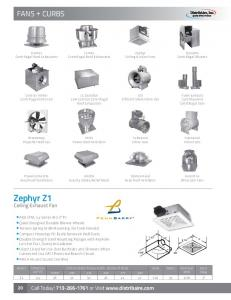 Zephyr Z1 Ceiling Exhaust Fan. Call Today! or Visit  Lots for Fast, Sturdy Installation