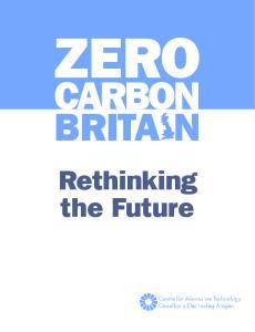 ZERO CARBON BRITA N. Rethinking the Future
