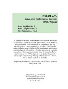 ZERRAN APS Advanced Professional Services 100% Vegano