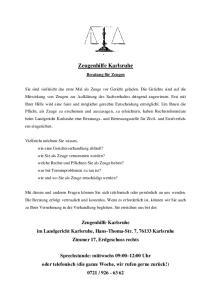 Zeugenhilfe Karlsruhe