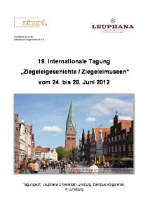 Ziegeleimuseen vom 24. bis 26. Juni 2012