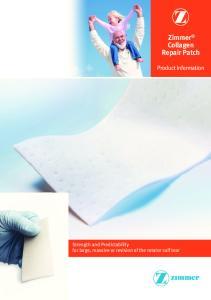 Zimmer Collagen Repair Patch