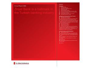 Ziraat Bank is a hallmark in the Turkish banking industry