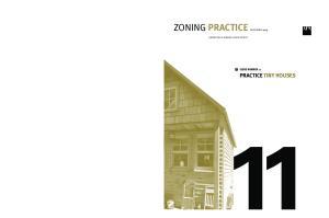 ZONING PRACTICE NOVEMBER 2015