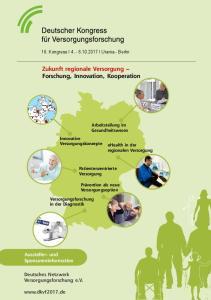 Zukunft regionale Versorgung Forschung, Innovation, Kooperation