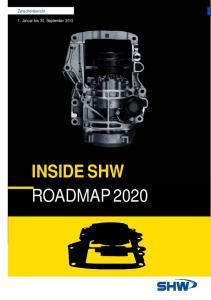 Zwischenbericht. 1. Januar bis 30. September 2015 INSIDE SHW ROADMAP 2020